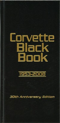 Corvette Black Book 1953-2008 Hardbound