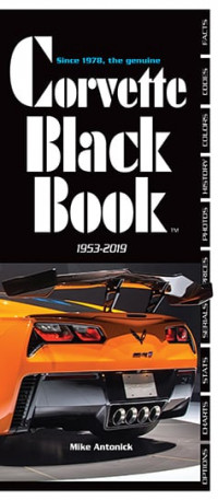 Corvette Black Book 1953-2019, Second Printing