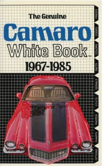 Camaro White Book 1967-1985