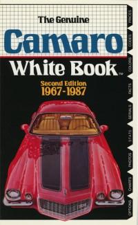 Camaro White Book 1967-1987