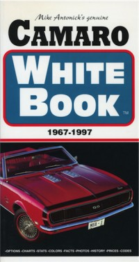 Camaro White Book 1967-1997