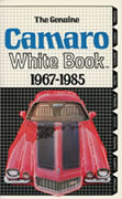 Camaro White Books
